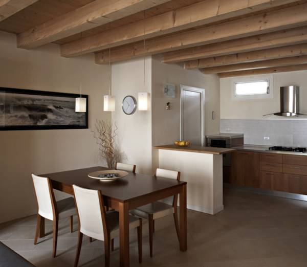 Muretti Divisori Per Cucine: La casa per due un bilocale di classe ...