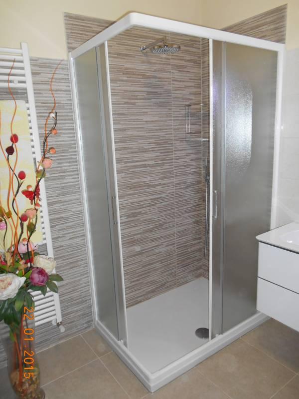 x close bagno ristrutturato doccia