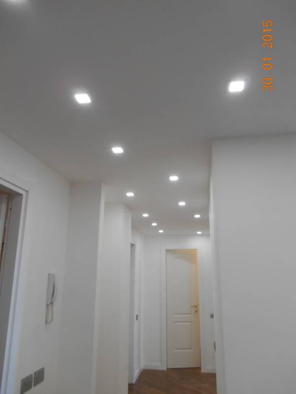 Illuminazione Corridoio Faretti: Applique faretti per open space quot industr...