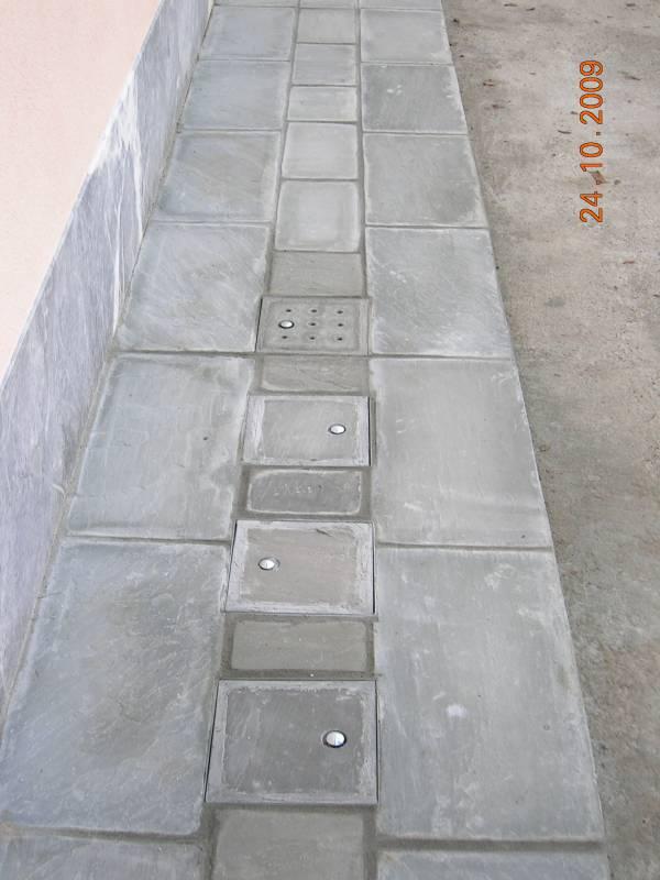 pavimentazione marciapiede in beola