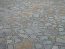 pavimentazione esterna in porfido